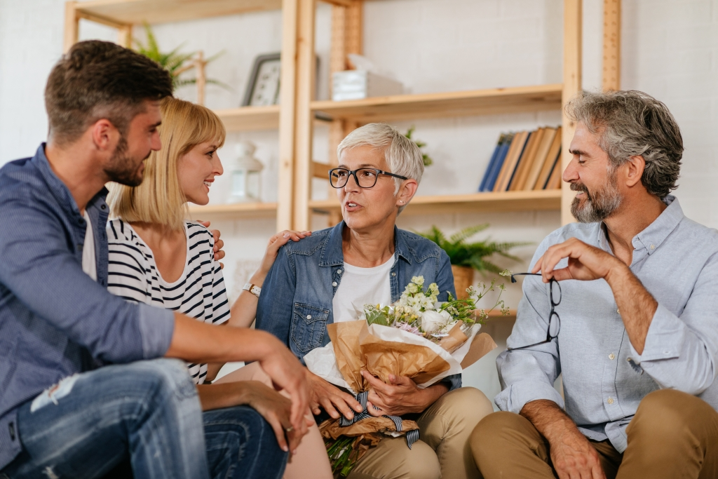 Have support when discussing guardianship with aging parents